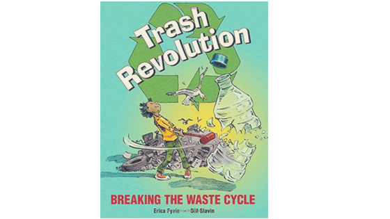 Trash Revolution by Erica Fyvie for One Lit Place at onelitplace.com