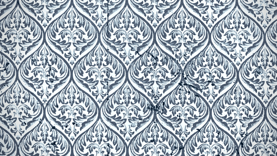 wallpaper pattern for Part 5: The First Draft in blog series Writing a Book for Your Business at One Lit Place onelitplace.com