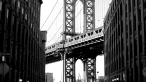 NYC bridge for thanksgiving blog at One Lit Place onelitplace.com