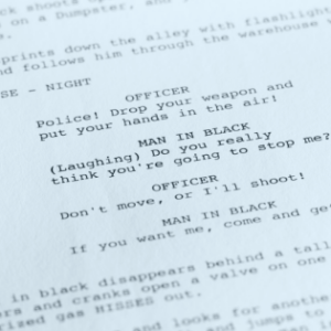 close of screenplay for One Lit Place at onelitplace.com