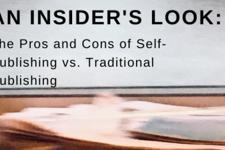 self-publishing vs. traditional publishing from One Lit Place at onelitplace.com
