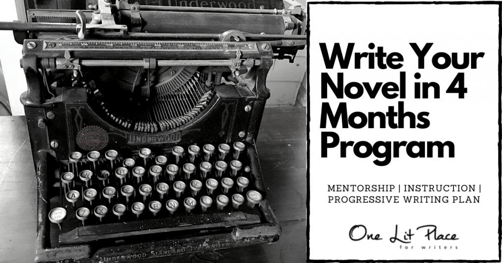 vintage typewriter at onelitplace.com